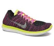 Free Rn Flyknit (Gs) Sneaker in rosa