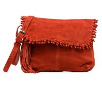 WANETA Crossbody Suede leather bag Handtaschen für Taschen in rot