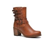 Kelly Belted short Stiefeletten & Boots in braun