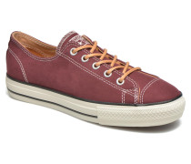 Ctas High Line Peached Canvas Ox Sneaker in rot