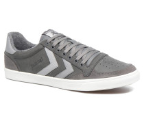 Slimmer Stadil Duo Oiled Low Sneaker in grau