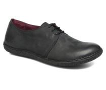 Holster Schnürschuhe in schwarz
