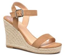 Amelia Etno Heeled Sandal Sandalen in grün