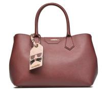 Klassic Lady Shopper Handtaschen für Taschen in weinrot
