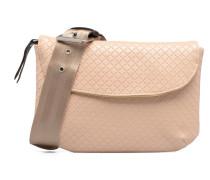 Fancy Canvas line Belt bag Handtaschen für Taschen in rosa