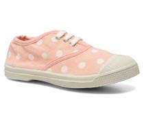 Tennis Lacets Pastel Pastilles E Sneaker in rosa