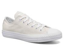 Ctas Stingray Metallic Ox Sneaker in weiß