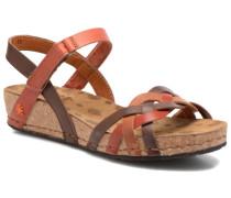 Pompei 735 Sandalen in braun