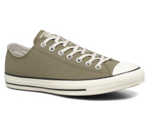 Chuck Taylor All Star Coated Leather Ox Sneaker in grün