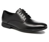 Sc Plain Toe Schnürschuhe in schwarz