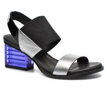 Mid Rise Slingback Sandalen in mehrfarbig
