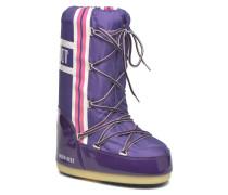 Training Stiefel in lila