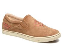 Fierce Rustic Weave Sneaker in braun