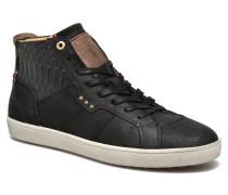 Montefino Mid Men Sneaker in schwarz