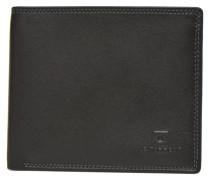 TOURAINE Portebillets poche monnaie rabat Portemonnaies & Clutches für Taschen in schwarz