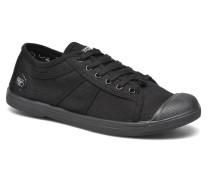 Basic 02 Mono Sneaker in schwarz