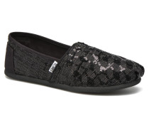 Seasonal classics W Slipper in schwarz