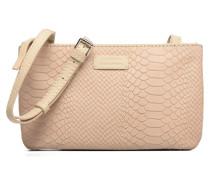 Besace Double Handtaschen für Taschen in beige
