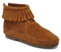Back Zip bootie G Stiefeletten & Boots in braun