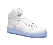 Wmns Air Force 1 Hi Prm Sneaker in weiß