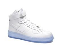 Wmns Air Force 1 Hi Prm Sneaker in weiß