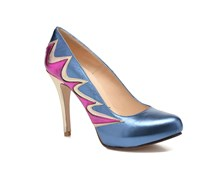Candela Pumps in blau