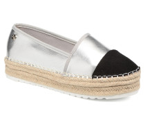 Bwou 30554 Espadrilles in silber