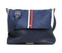 Foldover Grosgrain Crossbody Handtaschen für Taschen in blau