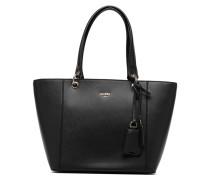 Kamryn Tote Zippé Handtasche in schwarz