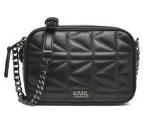 Kuilted Mini crossbody Handtaschen für Taschen in schwarz
