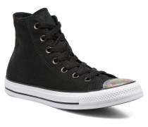 Chuck Taylor All Star Hi Oil Slick Toe Cap W Sneaker in schwarz