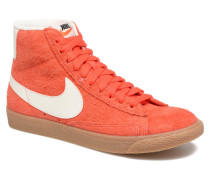 Wmns Blazer Mid Suede Vintage Sneaker in orange