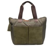 Mat&shinny tote Handtaschen für Taschen in grün