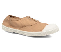 Tennis Lacets Sneaker in beige