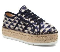 Basket Geometrico Platafor Sneaker in mehrfarbig