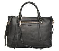 Regan Satchel Tote Handtaschen für Taschen in schwarz