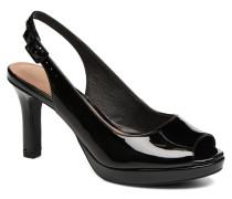 Mayra Blossom Sandalen in schwarz
