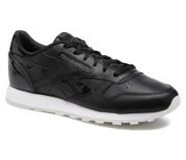 Cl Lthr L Sneaker in schwarz