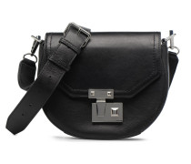 MEDIUM PARIS SADDLE BAG Handtasche in schwarz