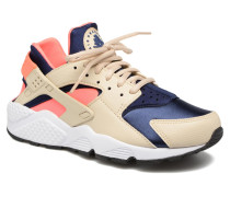 Wmns Air Huarache Run Sneaker in beige