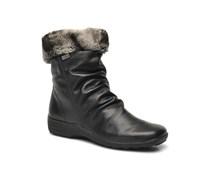 Valeria D0593 Stiefeletten & Boots in schwarz