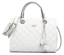 Seraphina Satchel Handtasche in weiß