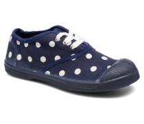 Tennis Lacets Pastel Pastilles E Sneaker in blau
