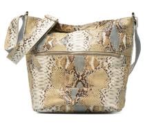 Seau Serpent Handtaschen für Taschen in beige