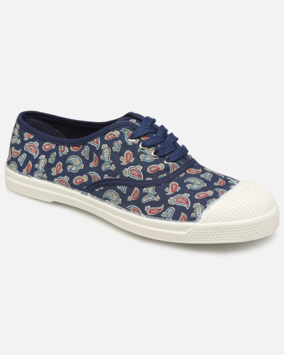 Tennis Lacet Mini Bandana Sneaker in blau