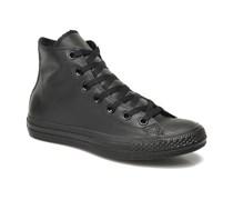Chuck Taylor All Star Mono Leather Hi W Sneaker in schwarz