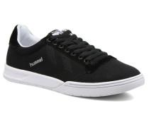 Hml Stadil Canvas Lo Sneaker in schwarz
