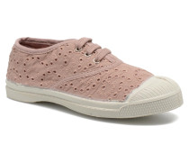 Tennis Broderie Anglaise E Sneaker in rosa