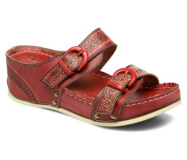 Scep Clogs & Pantoletten in rot