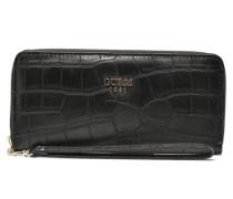 Cate Large Zip around Portemonnaies & Clutches für Taschen in schwarz